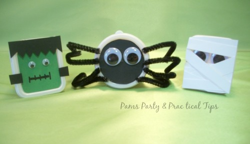 Halloween treat boxes for classroom parties