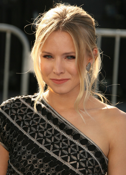 Kristen Bell Long Hairstyles for Summer 2013
