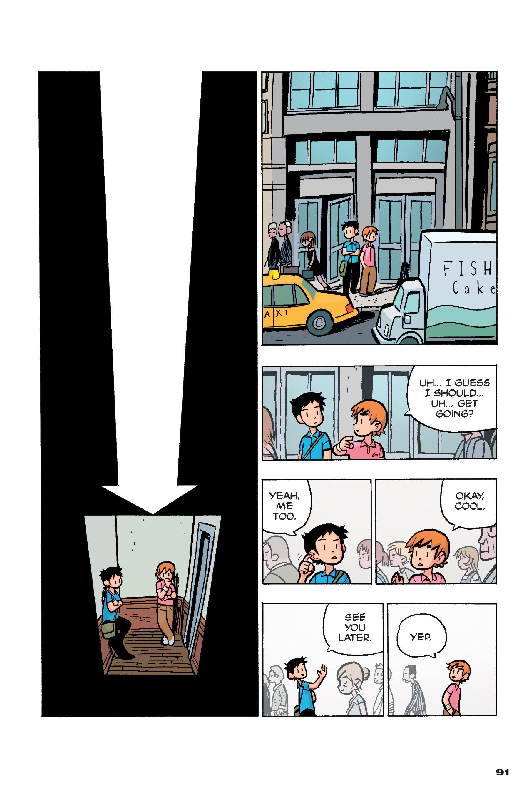 Read online Scott Pilgrim comic -  Issue #4 - 89