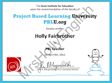 Project Based Learning Teacher Certified