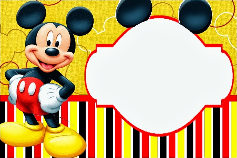 Fazendo A Propria Festa Kit Personalizados Tema Mickey Em