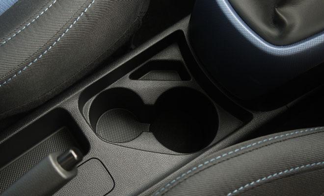 Hyundai i10 cupholders