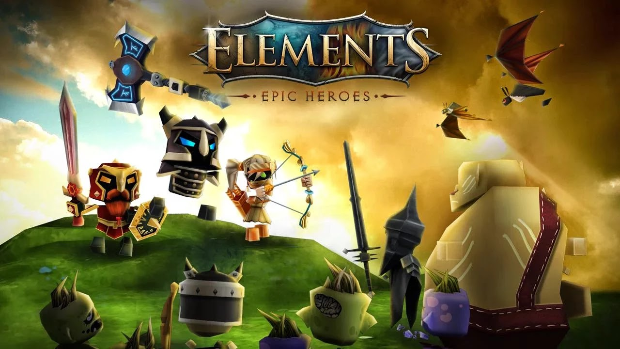 Android Elements: Epic Heroes Apk resimi 5