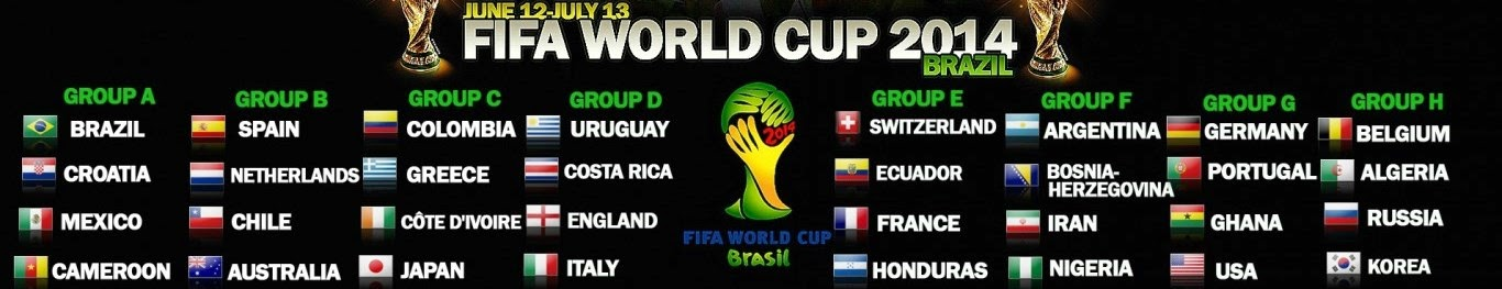 World Cup 2014 Fixtures Tickets Stadiums Groups Betting Odds