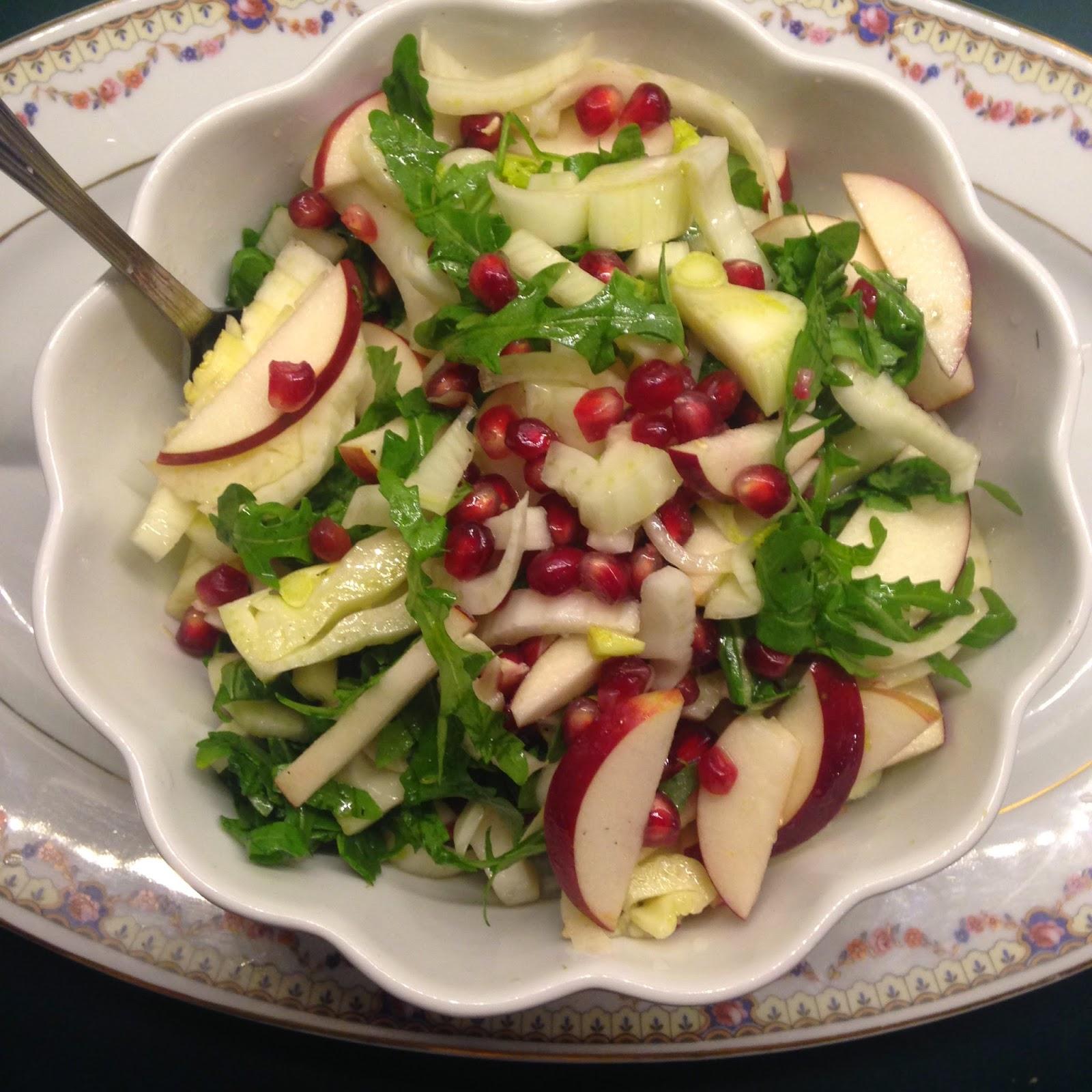 La popoteuse la salade festive - Recette de cuisine pour les nuls ...