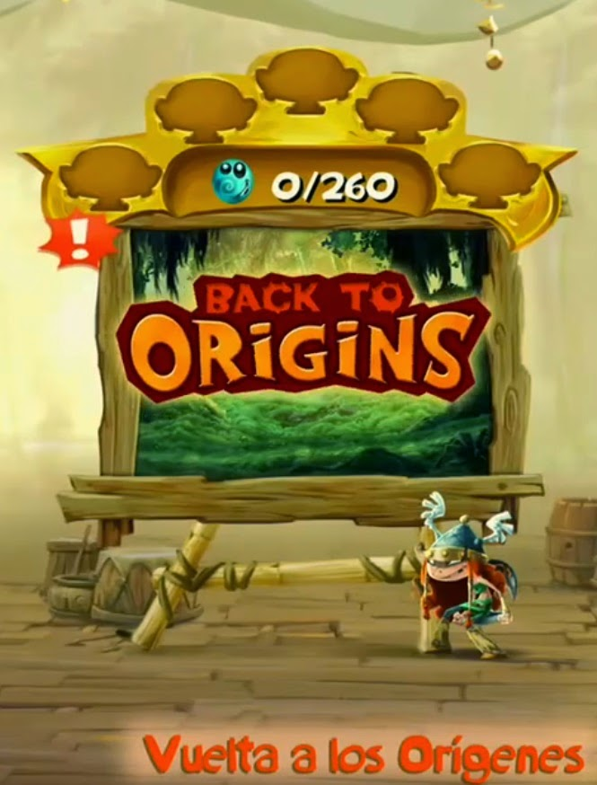 rayman legends back to origins