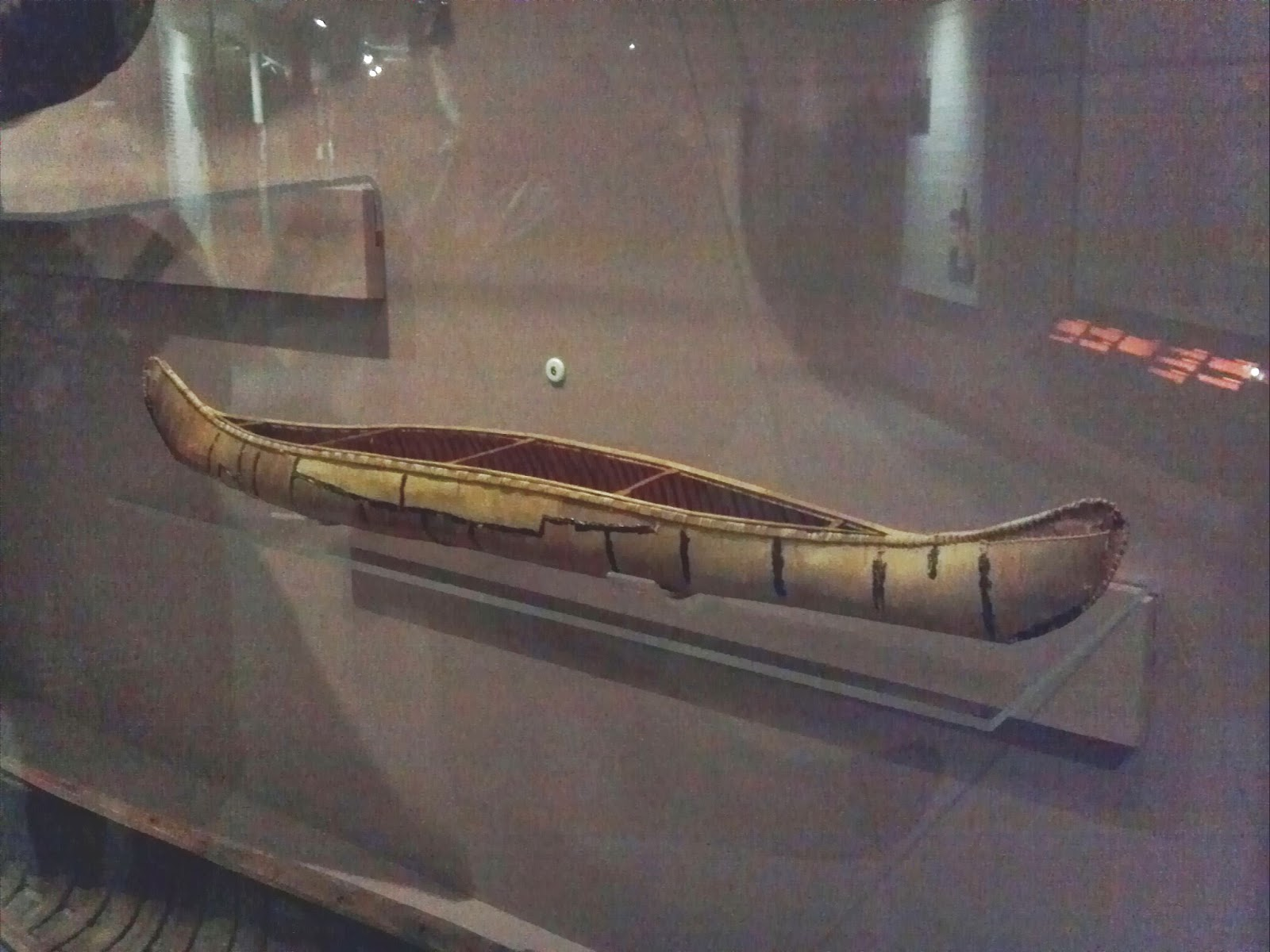 Micmac canoe model