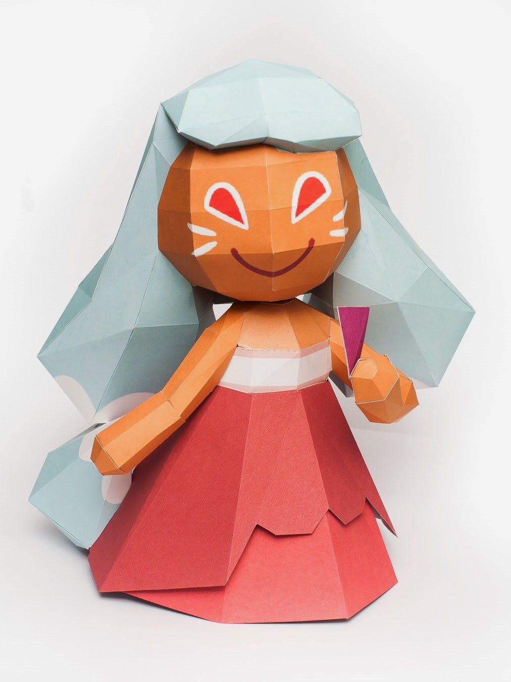Cookie Run Ninetails Cookie Papercraft