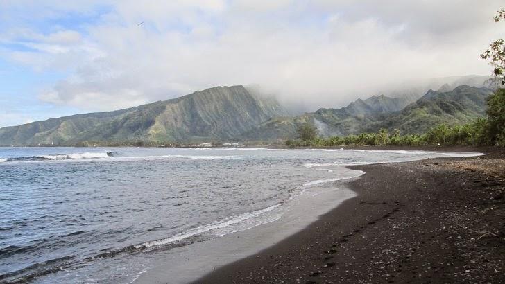 Papara - Le littoral