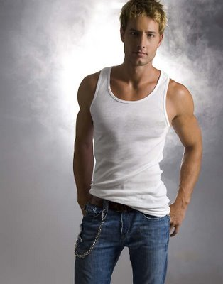 actor justin hartley looking amazingly hot