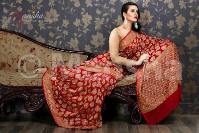 Mansha Designer Suits Collection 2013-2014