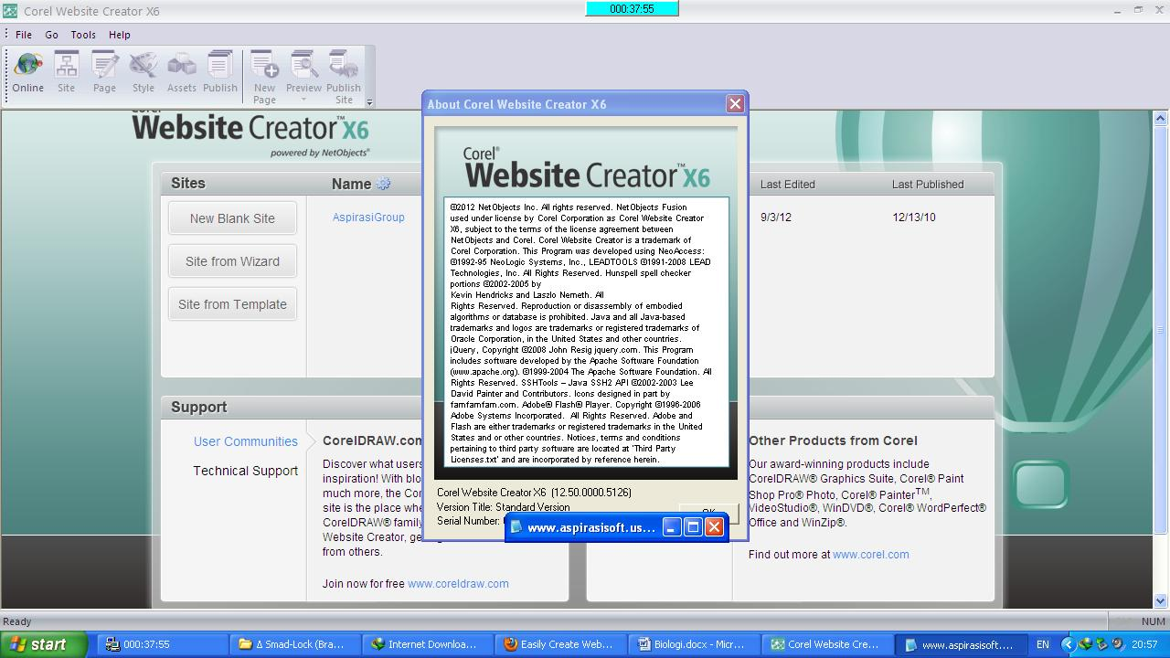 corel website creator x6 tutorial pdf