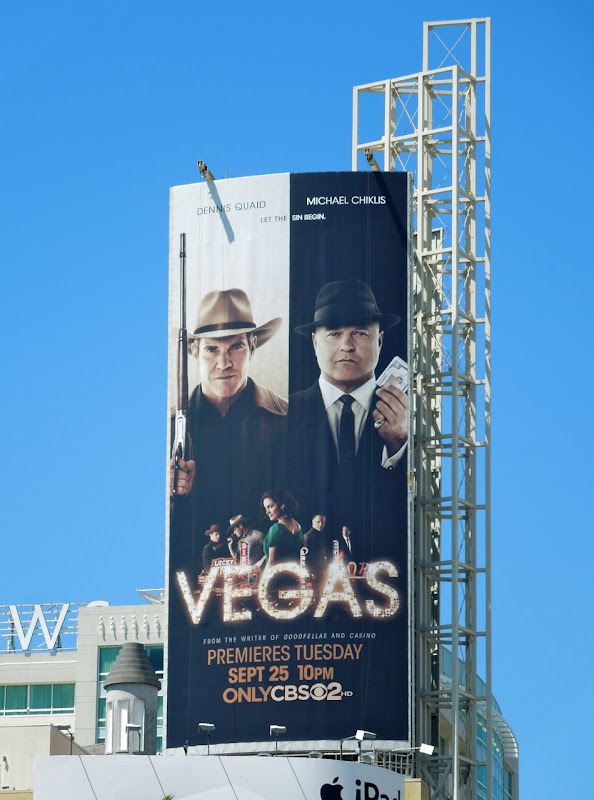 Vegas billboard Hollywood