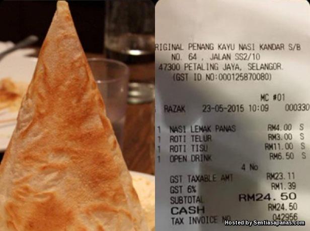 Roti Tisu RM11