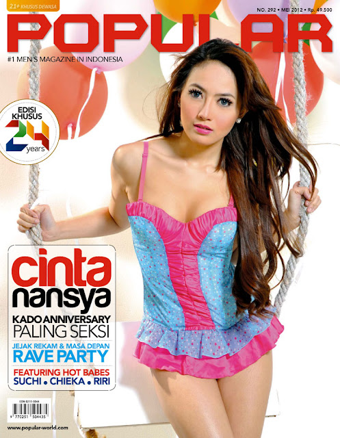 Cinta Nansya for Popular World Magazine, May 2012