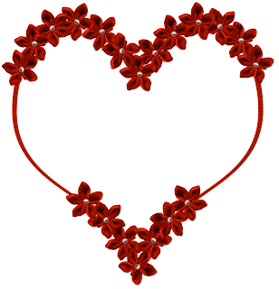 red heart eridoodle flowers free download png for scrapbooking valentine valentine's day
