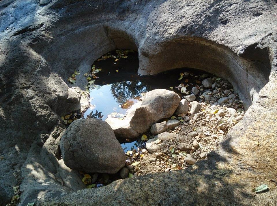 Love Shape Pond at Taramati