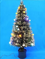 Aprenda a construir a sua própria árvore de Natal de fibra óptica