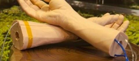 Google cria pele humana sintética