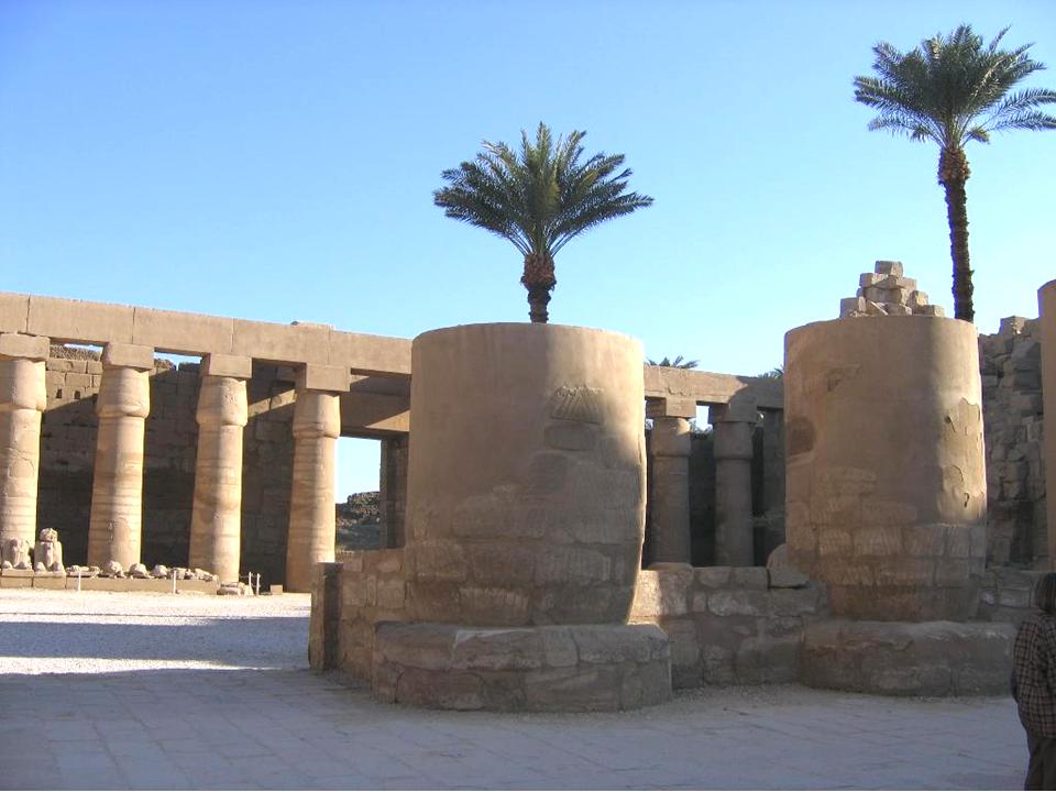 Templo de Karnak, Egipto.
