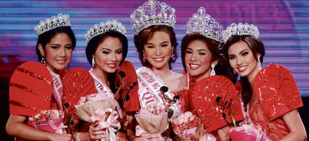 Mutya ng Pilipinas 2013 winners Koreen Medina & Angeli Dione Gomez