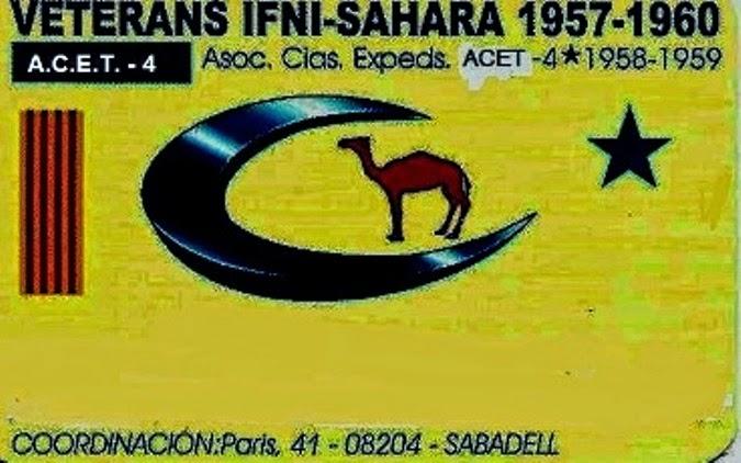 VETERANOS DE IFNI SAHARA 1957 - 60