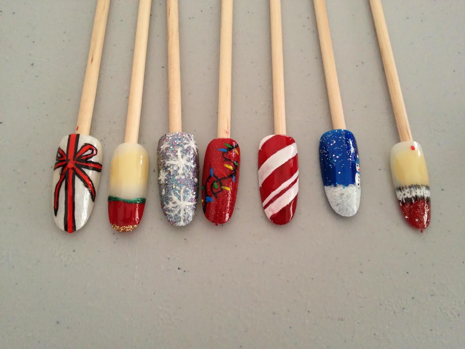 Ateliers nail art Décembre et Janvier12