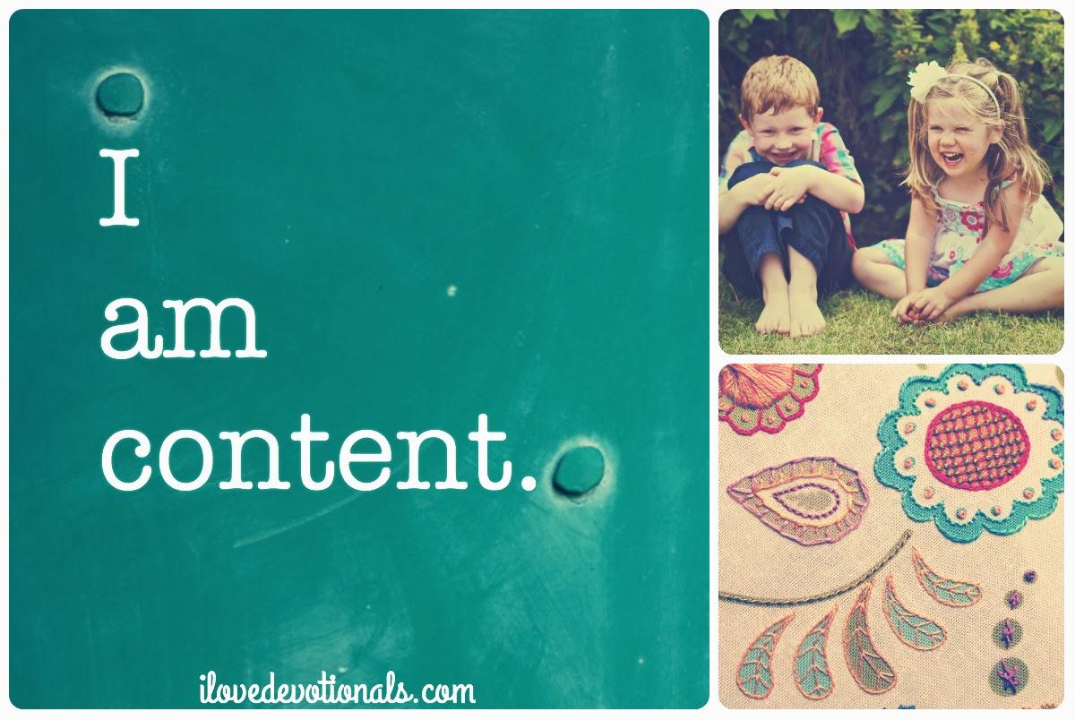 Contentment Philippians 4:11