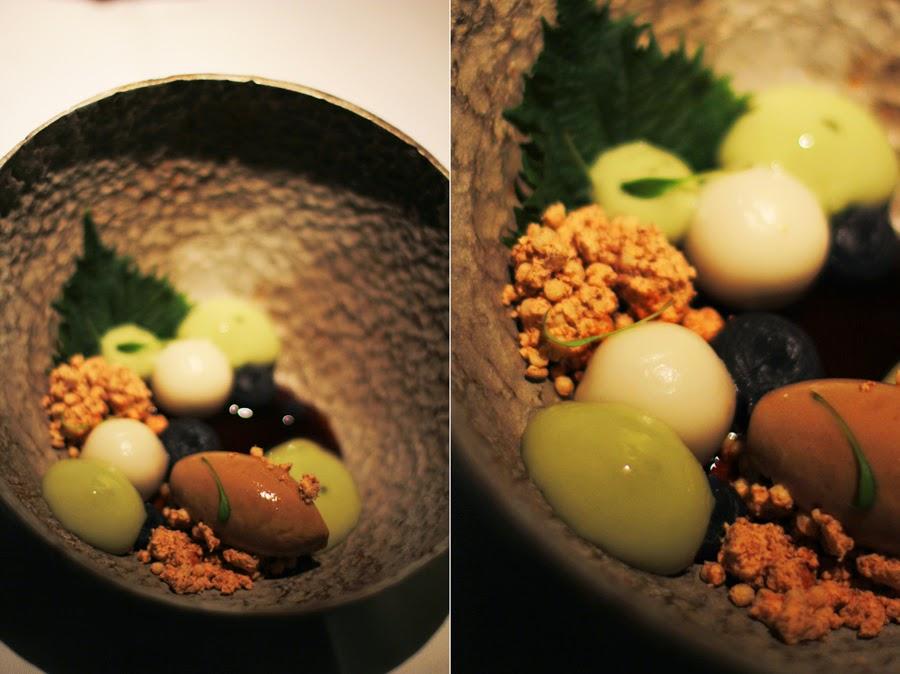 Dessert : Erdnuss Mochi, schwarzes Bohnenpüree,Matcha und Sojaeis vegan cookformesunday