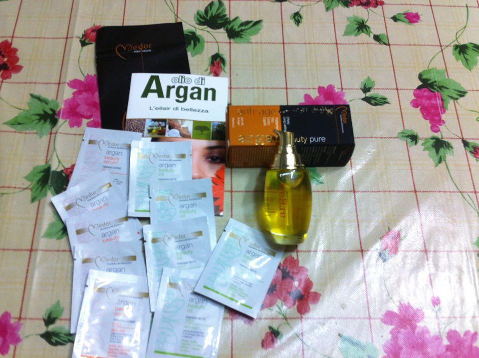 collaborazione olio di argan