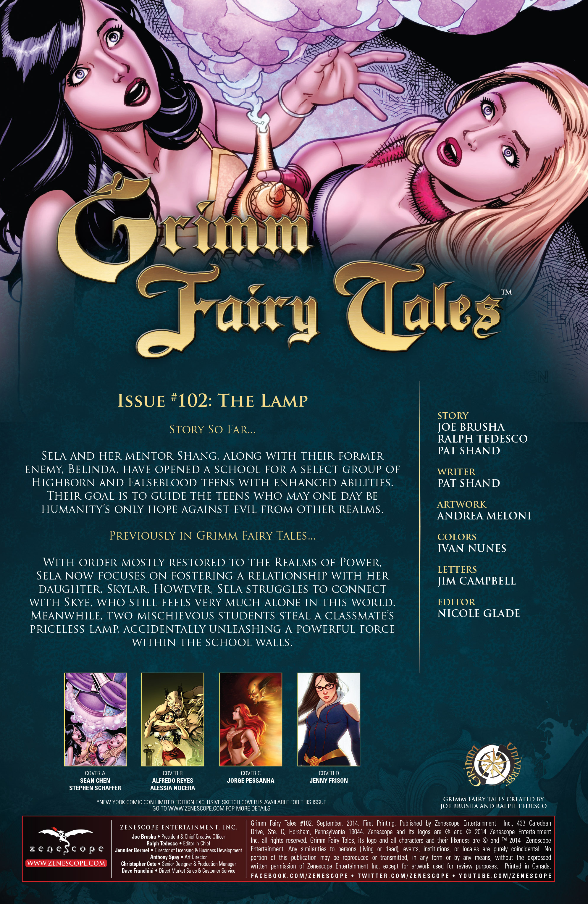 Grimm Fairy Tales (2005) Issue #102 #105 - English 2