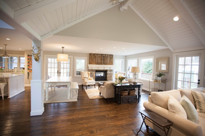 1000 images about barndominiums on pinterest for Open farmhouse plans
