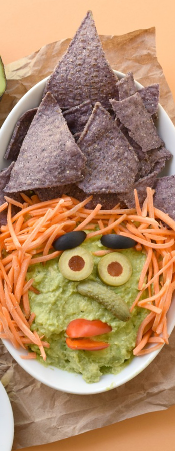 Witchy Guacamole Dip via Fork&Beans