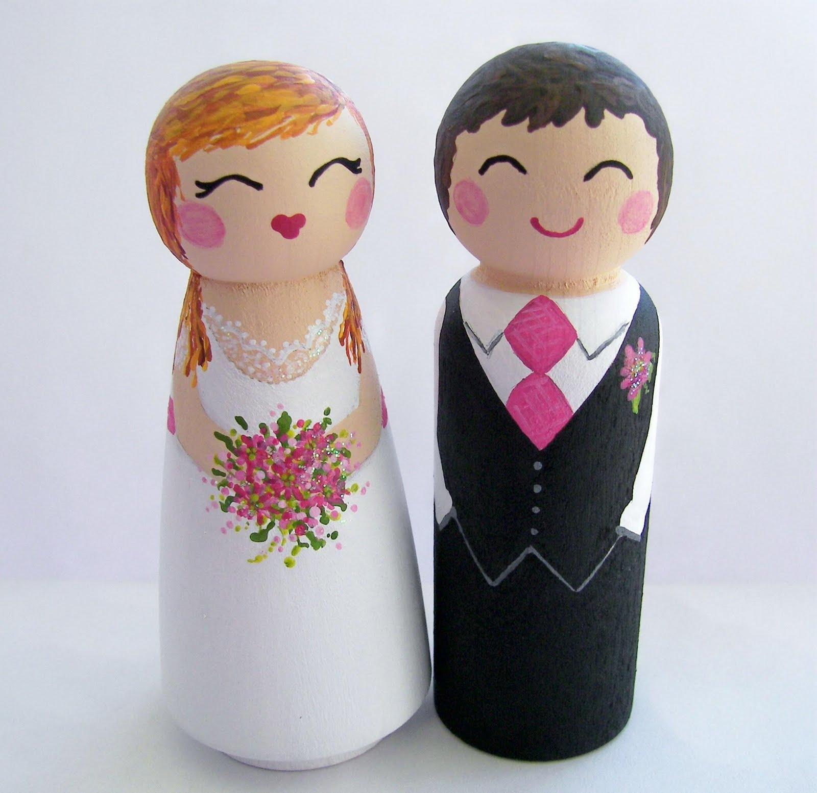 Citrus Wedding Custom Cake Toppers