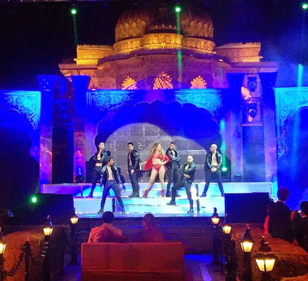 Jennifer Loper Perform at Udaipur big fat wedding