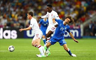 Berita Inggris, Inggris vs Italia