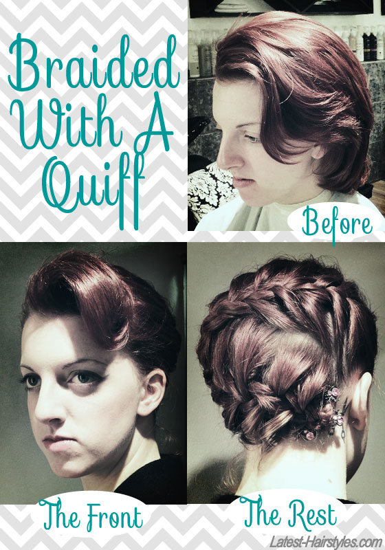 Quick Hairstyles For Short Hair Step By Step : Hair and Make-up by Steph: Styling Ideas for Short Hair