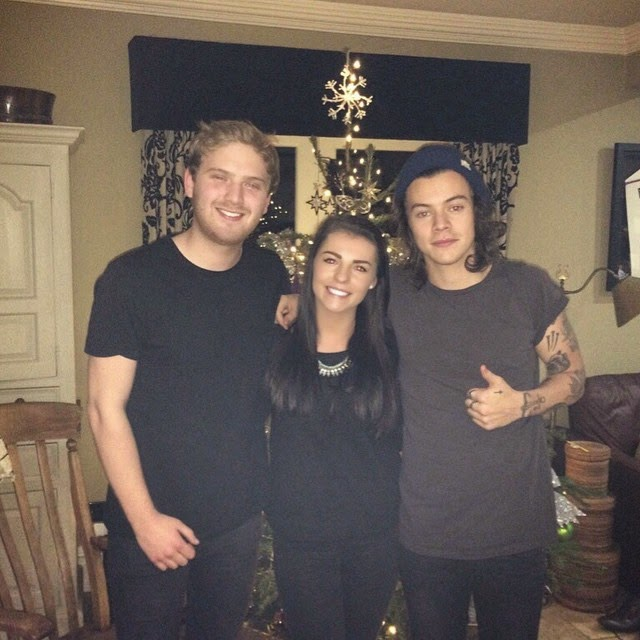 harry styles, cheshire, holmes chapel, uk, one direction, 24.12.14, christmas eve