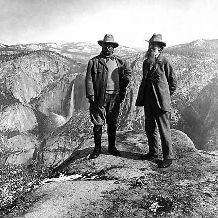 John Muir President Teddy Roosevelt randommusings.filminspector.com