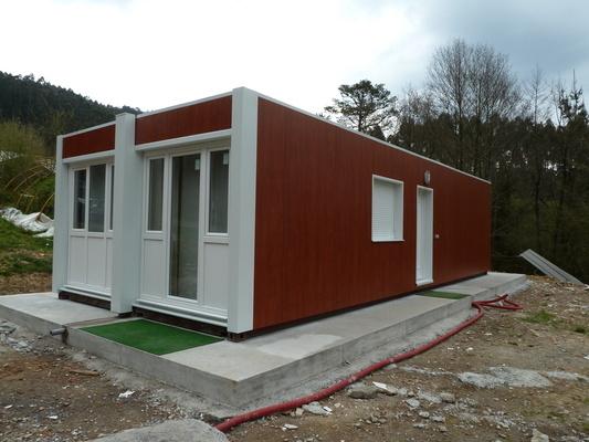 casas contenedores transporte instalacin y montaje de una casa contenedor - Casas Con Contenedores