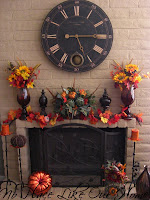 Fall Mantle Decor