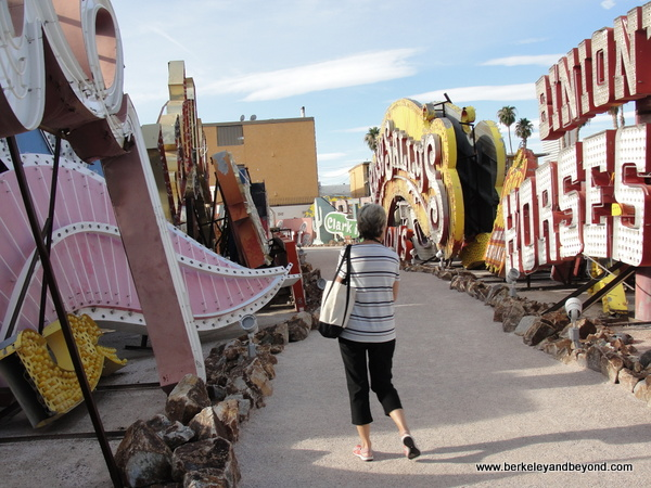 path at The Neon Museum in Las Vegas, Nevada