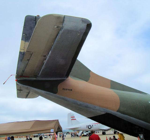 C-123 Provider walk around tail photo
