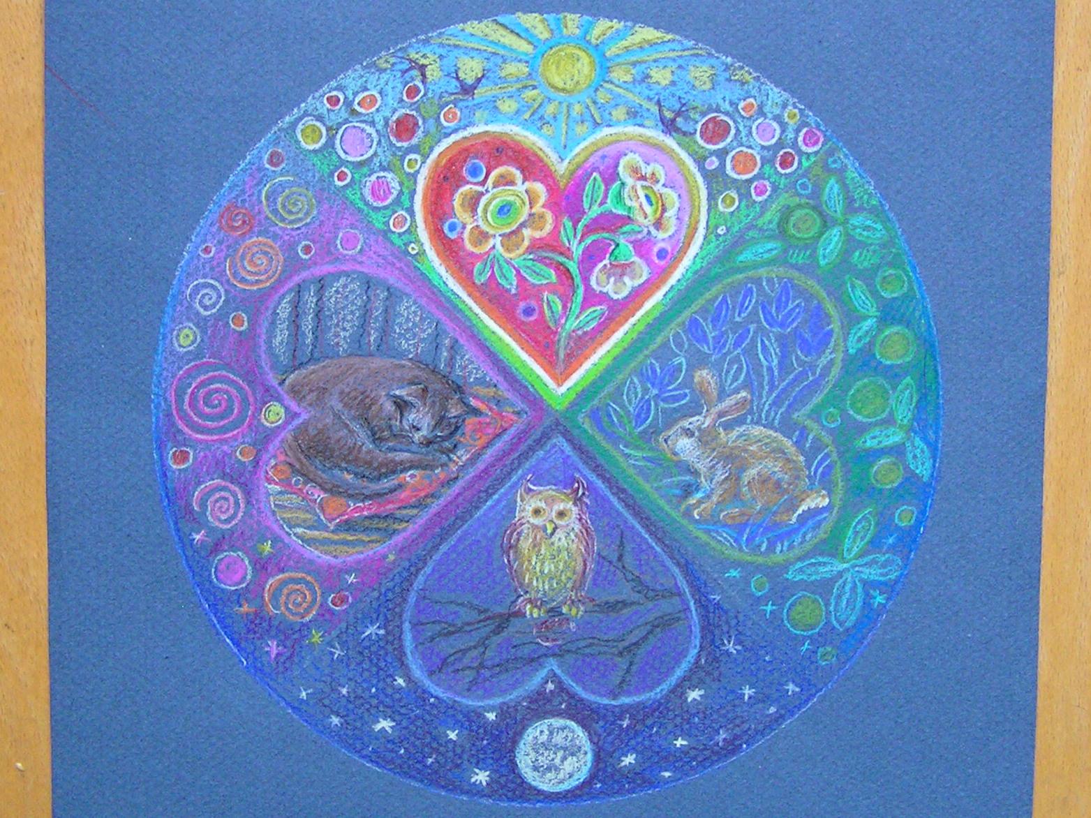 Fiberrainbow februari 2012 - Mandala anniversaire ...