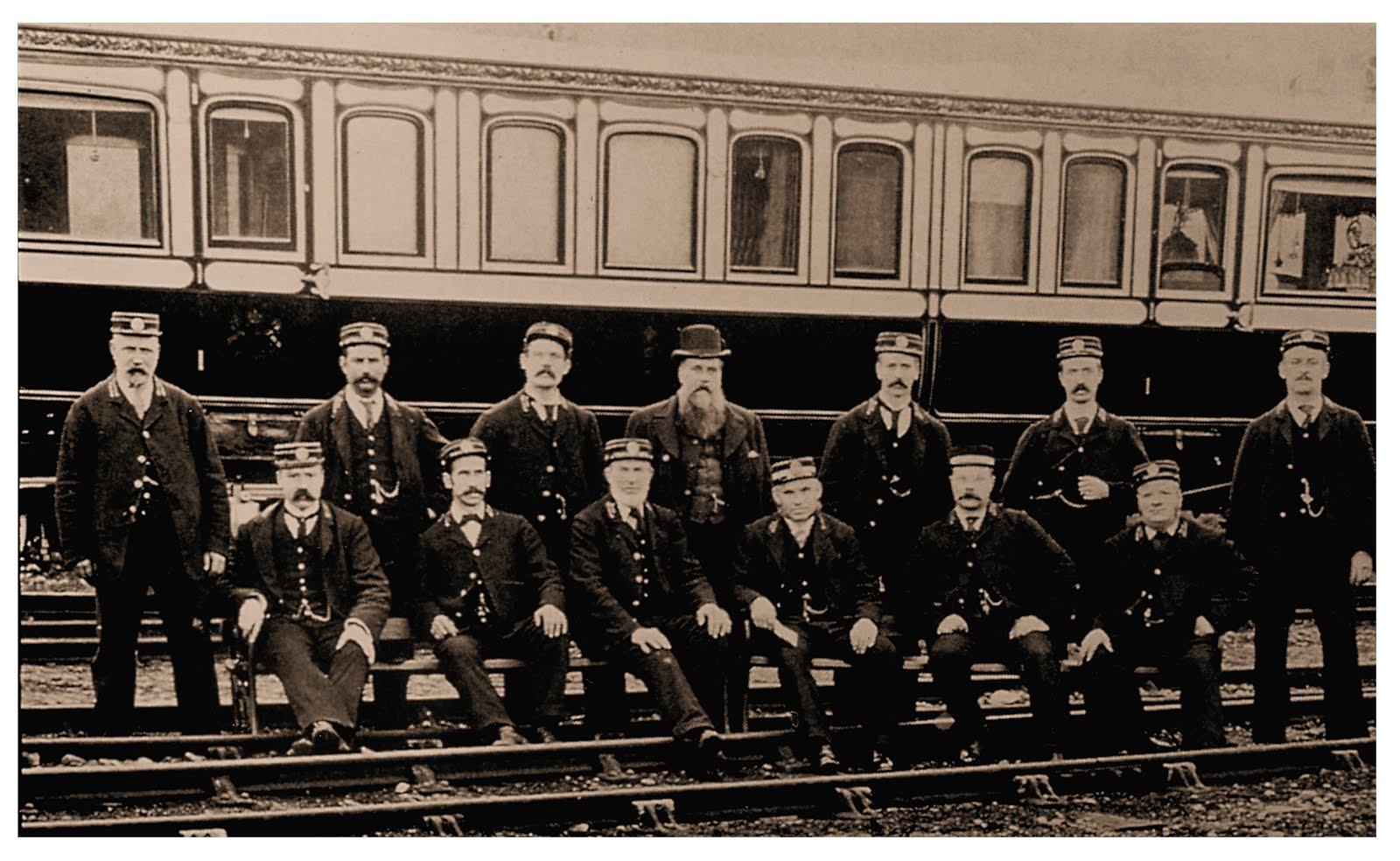 Victoria's train Crew