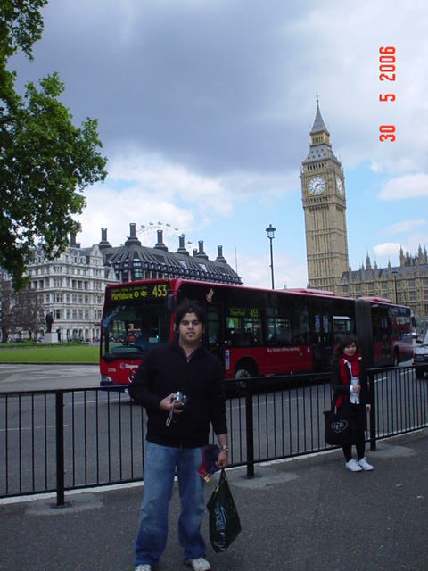 The Big Ben in London