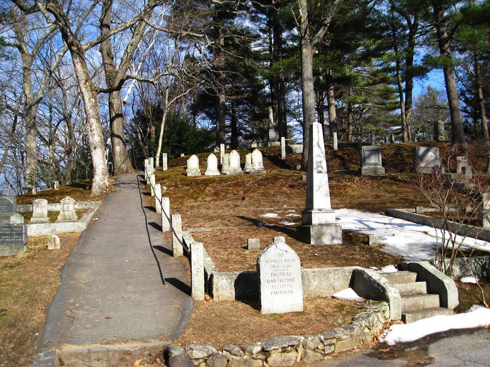 North American Cemeteries: Ellen Tucker Emerson - Sleepy