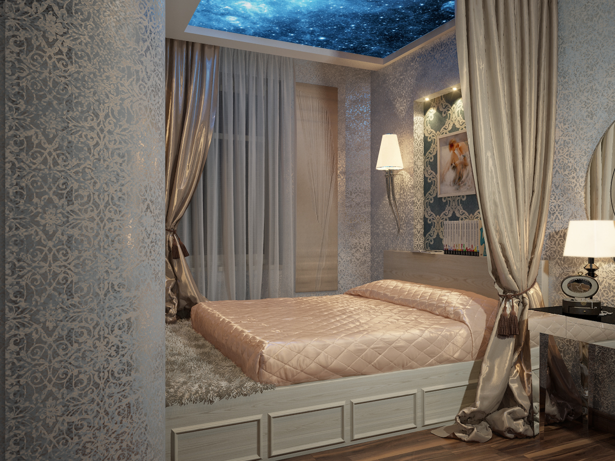 Small Bedroom Visualization By Happy Irena Interior