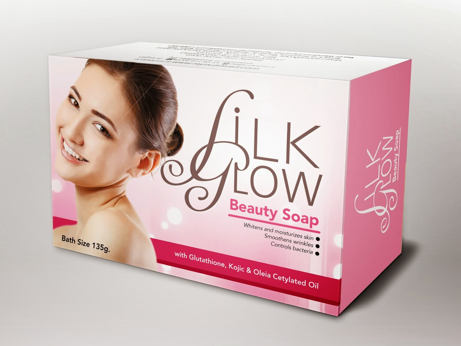 Silk Glow Beauty Soap