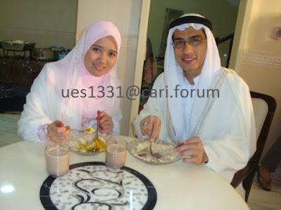 Pernikahan Asyraf Muslim Dan Noor Dayana Di Mekah (Gambar)